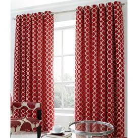 image-Riverton Eyelet Room Darkening Curtains Canora Grey