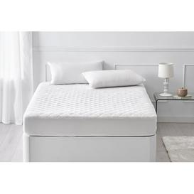 image-Robison Padded Hypoallergenic Mattress Protector Symple Stuff