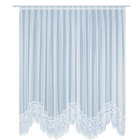 image-Nydia Pencil Pleat Semi-Sheer Curtain Ebern Designs Panel Size: Width 750cm x Drop 225cm