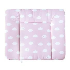 image-Small Cloud Changing Mat roba Colour: Pink/White