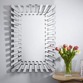image-Barston Accent Mirror Fairmont Park Size: 100cm x 66cm