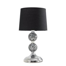 image-Korbin 2 Piece Lamp Set Rosalind Wheeler Shade Colour: Black, Bulb Type: No Bulb