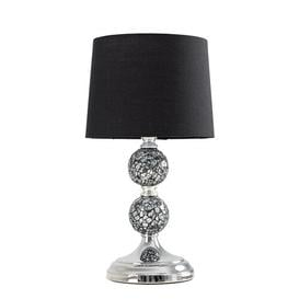 image-Korbin 33cm Table Lamp Set Rosalind Wheeler Shade Colour: Black, Bulb Type: No Bulb