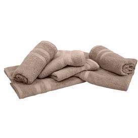 image-Alvey 6 Piece Towel Bale Ebern Designs Colour: Taupe