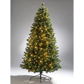 image-7Ft Regal Multifunction Pre-Lit Christmas Tree