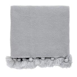 image-Helena Springfield Tivoli Klint Grey Knitted Throw Grey