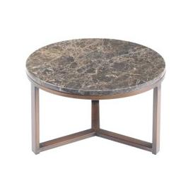 image-Libra Fitzroy Emperador Marble Coffee Table Small