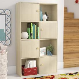 image-Ariyah Cube Unit Bookcase Rebrilliant Colour: Steam Beech