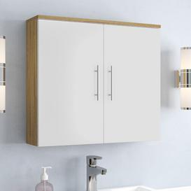 image-Salona 70 x 68cm Wall Mounted Cabinet Belfry Bathroom