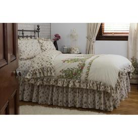 image-Bella Mae 150 Thread Count Valance Belledorm Size: Double (4'6)