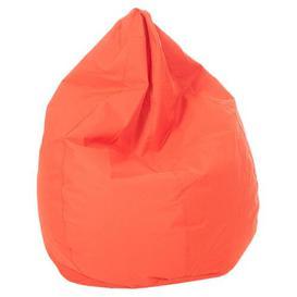 image-In / Out Tear Drop Bean Bag Brayden Studio Colour: Orange