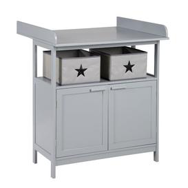 image-Hamburg Changing Table Dresser roba Colour: Grey