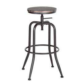 image-Neriah Height Adjustable Swivel Bar Stool Williston Forge