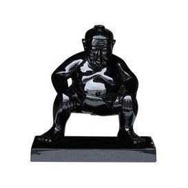 image-Sumo Garden Ornament - Black