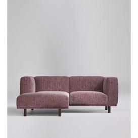 image-Swoon Hanoi Left Corner Sofa in Emerald Plush Velvet
