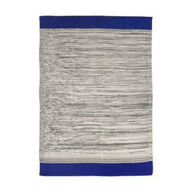 image-Dusty Rainbow Children blanket - / 80 x 100 cm by Ferm Living Blue,Grey-green