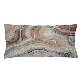 image-Gungnir Marble Surreal Onyx Surface Outdoor Cushion Cover Ebern Designs