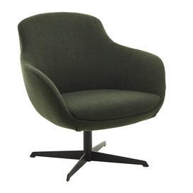 image-Pols Potten - Spock Swivel Chair - Dark Green
