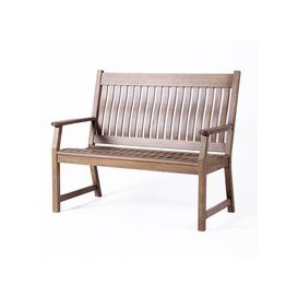 image-LG Outdoor Hanoi 2 Seat Slatted Bench by LeisureGrow
