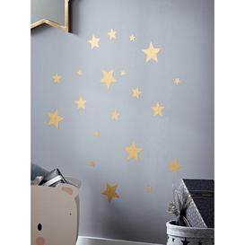 image-Gold Star Wall Stickers