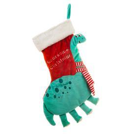 image-Sass & Belle Roarsome Dinosaur Christmas Stocking