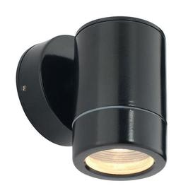 image-Saxby ST5009BK Odyssey Outdoor Single Wall Light in Black