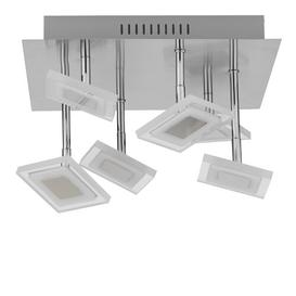 image-Jolly 6-Light LED Flush Mount Mercury Row