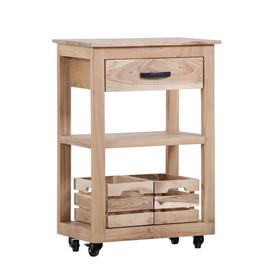 image-Terry Serving Cart Union Rustic