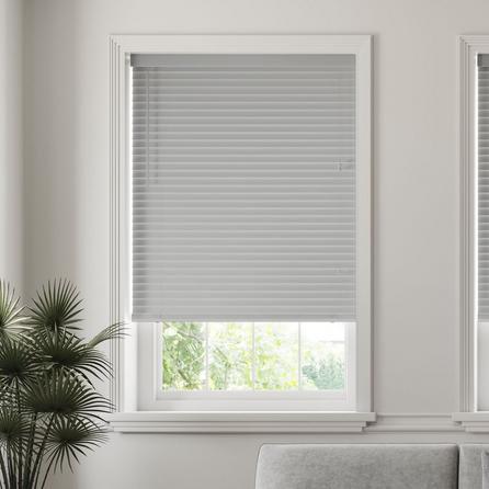 image-50mm Slats Room Darkening Grey Venetian Blind Grey
