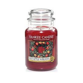 image-Yankee Candle Large Jar Candle &Ndash Red Apple Wreath