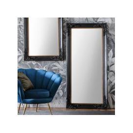 image-Gallery Direct Harrelson Leaner Mirror Antique Black
