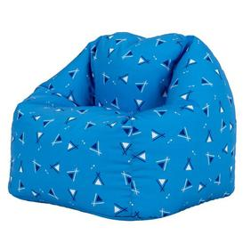 image-Tiny Tipi Bean Bag Chair Isabelle & Max Upholstery Colour: Blue