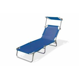image-Bibi Sun Lounger Sol 72 Outdoor Colour: Blue