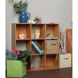 image-Cubeicals 9 Cube Bookcase Closetmaid