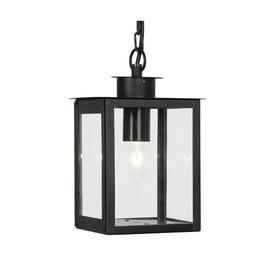 image-Richwood 1-Light Outdoor Hanging Lantern Mercury Row Fixture Finish: Black