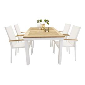image-Navya 4 Seater Dining Set Sol 72 Outdoor