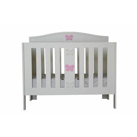 image-Anne Cot Bed HoneyBee Nursery Colour: Pink