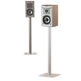 image-Maxi 2x Speaker Stand Symple Stuff Colour: Clear