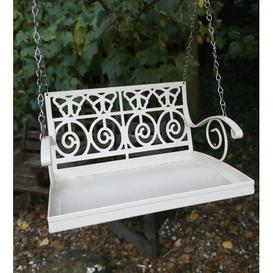 image-Evangelina Garden Bench Swing Decorative Bird Feeder Archie & Oscar