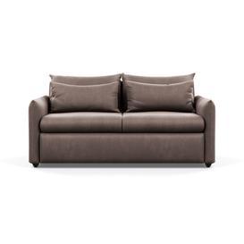 image-Heal's Pillow 3 Seater Sofa Velvet Mink Black Feet