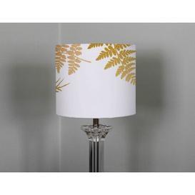image-Cotton Drum Lamp Shade Bay Isle Home Size: 25cm H x 40cm W x 40cm D