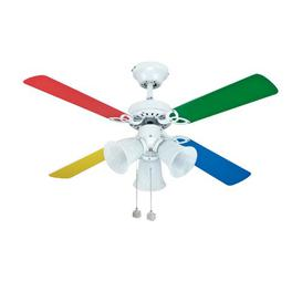 image-Viburnum 105cm 4 Blade Ceiling Fan Mercury Row