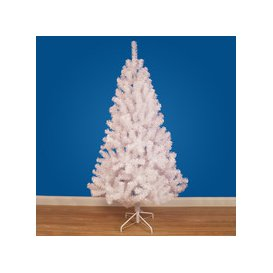 image-Hudson White Artificial Christmas Tree by The Christmas Centre - 4ft, 5ft, 6ft, 7ft, 8ft [5ft / 1.5m]