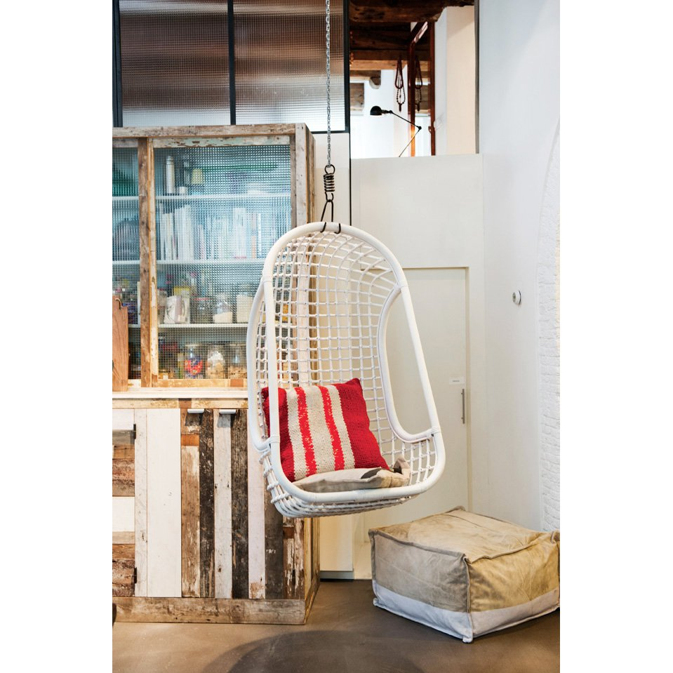 image-Cromer Indoor Hanging Chair White