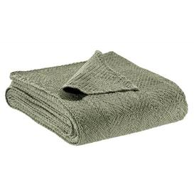 image-Rune Throw Ebern Designs Size: 130 W x 200cm L, Colour: Olive, Type: Throw