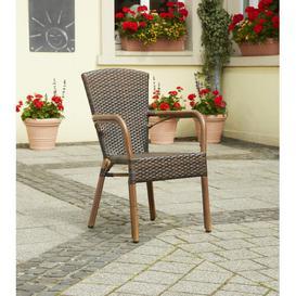 image-Rock Garden Chair Bay Isle Home Colour: Dark