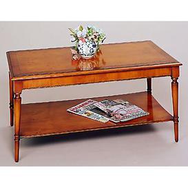 image-Tarporley Coffee Table with Magazine Rack Rosalind Wheeler Finish: Yewtree