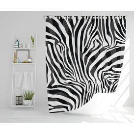 image-Sighwaldi Polyester Shower Curtain Set Bloomsbury Market Size: 177cm H x 210cm W