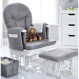 image-Glider Nursing Chair and Footrest Obaby