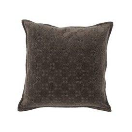 image-Monsoon Charcoal Chenille Cushion
